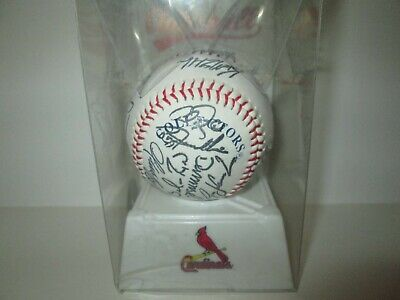 $ CDN26.41 • Buy MLB Autoball Cardinals Machine Autographed Baseball