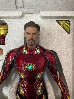 $ CDN220.49 • Buy 1/6 Custom Iron Man Mark 50 L Doctor Strange Infinity War Armor Mod Set Hot Toys