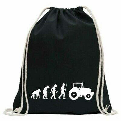 AU32.82 • Buy Landwirt Tractor Evolution Gym Bag Fun Backpack Sports Pouch Gymsack Ziehgurt
