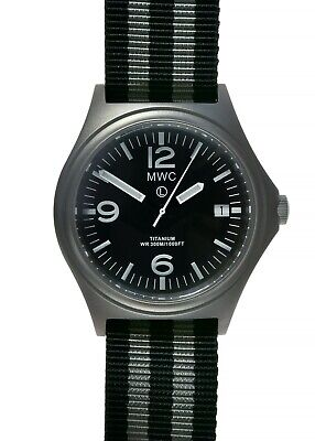 $ CDN241.42 • Buy MWC Titanium G10 1000ft WR 45th Anniversary Limited Edition Military Watch