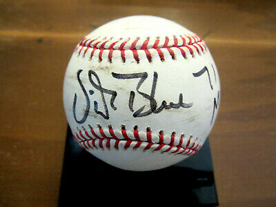 $ CDN132.10 • Buy Vida Blue 1971 Mvp Oakland A's Sf Giants Signed Auto Game Used Oml Baseball Jsa