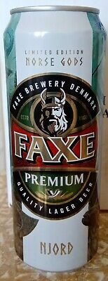 $ CDN5.35 • Buy NEWEST! Beer Can - Faxe Premium - 450 Ml - 2020 - Russia - Norse Gods #3