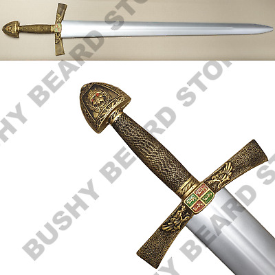 IVANHOE LARP SAXON Foam Sword Cosplay Medieval Weapon High Quality 41  104CM • 21.95£