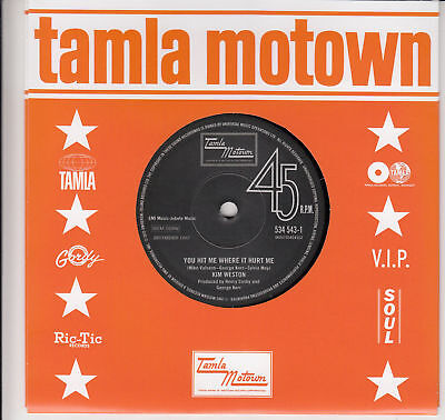 NEW - TEMPTATIONS / KIM WESTON- Forever In My Heart /You Hit Me Where It Hurt Me • 54.95£