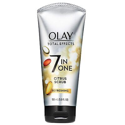 $8.99 • Buy OLAY TOTAL EFFECTS 7 IN ONE REFRESHING CITRUS SCRUB CLEANSER 5 Fl Oz