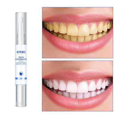 Bleaching Remover Brush Plaque Stains Teeth  Pen Cleaning Dental Tools • 4.83£