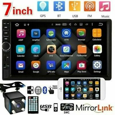 $ CDN49.42 • Buy 7  Double 2-Din Touch Screen Car Stereo MP5 Player Bluetooth FM Radio W/ Camera