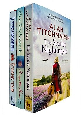 £13.45 • Buy Alan Titchmarsh 3 Books Collection Set Mr Gandy's Grand Tour Paperback NEW