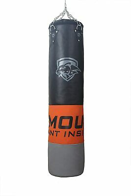 AU79.19 • Buy RMOUR Unfilled Heavy PU Punch Bag Boxing MMA Sparring Kick Boxing