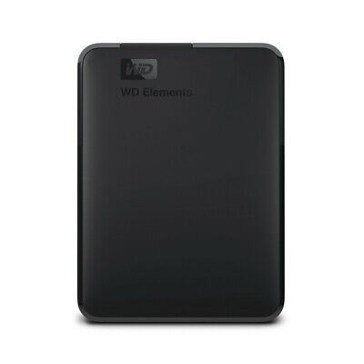 AU197.90 • Buy Western Digital WD 5TB Elements Portable USB 3.0 2.5  External Hard Drive - Slim
