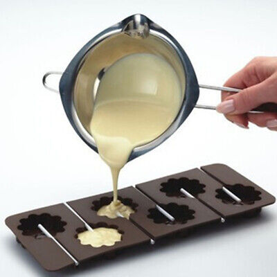 Melting Pot Double Boiler For Butter Stainless Steel Chocolate Baking Tools • 6.85£