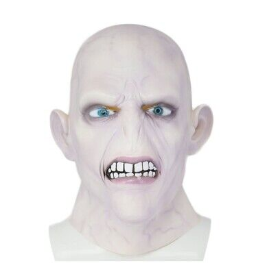 £15.99 • Buy Party Costume Happy Potter Lord Voldemort Mask Fancy Halloween Latex Mask