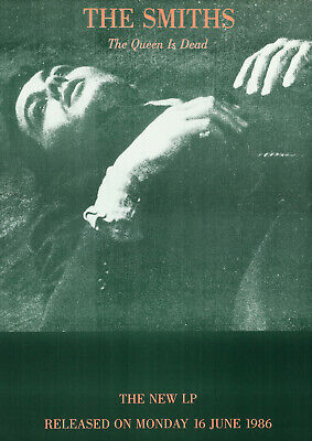 $12.33 • Buy THE SMITHS - The Queen Is Dead LP Promotional (1986) Music Concert Poster Art