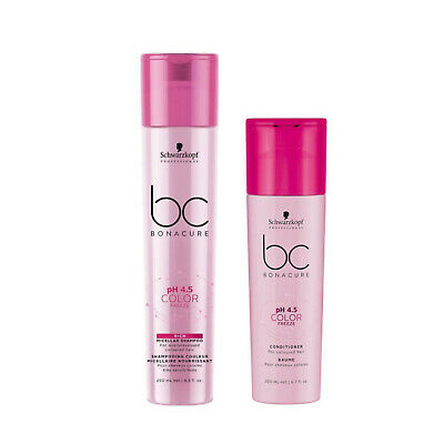 AU34 • Buy Schwarzkopf BC Ph 4.5 Color Freeze Rich Shampoo 250ml & Conditioner 200ml Duo