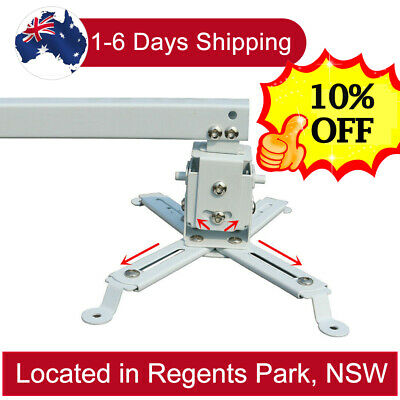 AU39.99 • Buy Wall Ceiling Bracket Mount For Epson BenQ Projector Extendable Holder 44lbs AU