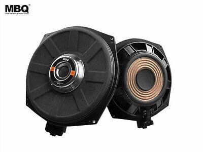 BMW 20cm 8  Underseat Subwoofer Speaker For All BMW Car 1,3,5 Series X1 PAIR! • 168.99£