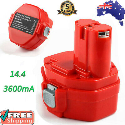 AU27.99 • Buy 3.6Ah 14.4V NI-MH Battery For Makita 1420 1422 1433 PA14 6228D Cordless Drill AU