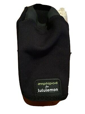 RARE Lululemon Amphipod Stealth Runner Hydration Water Bottle Cattier With Pouch • 12.80£