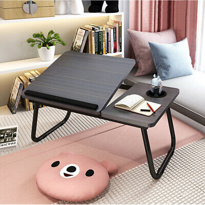 Foldable Laptop Bed Table Stand Computer Desk Sofa Lap Tray Adjustable Portable • 18.79£