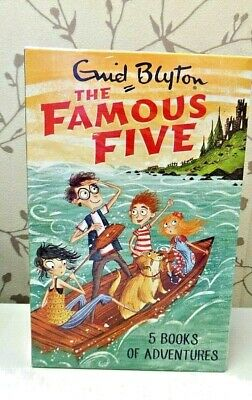 Enid Blyton FAMOUS FIVE (1 To 5) 5 Books Pack Set  NEW SEALED • 12.99£
