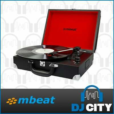 AU99 • Buy MBeat Suitcase Vinyl Turntable W/ USB Player And Built-in Speakers Record Player