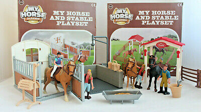 £13.49 • Buy Horse Stable Play Set Toy Horse Accessories Kids Children Toy - TRACKED POSTAGE