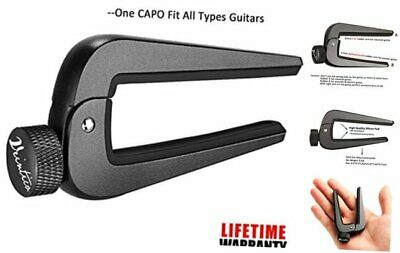 $ CDN29.25 • Buy  Wide Guitar Capo Fit For 6 And 12 String Acoustic Classical Electric Guitar,Bas