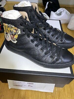 AU400 • Buy Gucci Tiger High-Top Sneakers UK7.5 US8.5