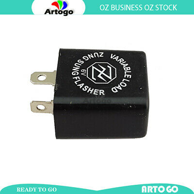 AU26.97 • Buy 2 PIN 6V 10W Universal INDICATOR FLASHER RELAY Fit YAMAHA STYLE 10W Pre 1986