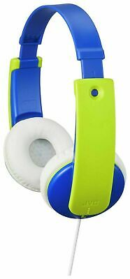 JVC On-Ear Volume Limited Wired Kids Headphones - Blue / Green (AU) • 9.99£