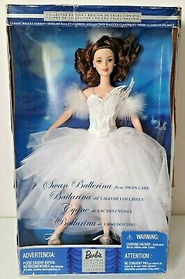 Swan Ballerina From Swan Lake Barbie Doll Collectors Edition Boxed New Free P&p • 44.95£