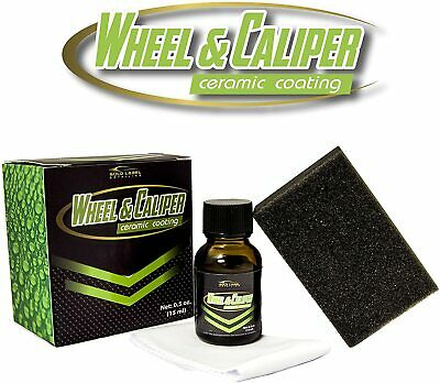 $32.99 • Buy Wheel And Caliper 5 Year Ceramic Coating 15ml | 9H Hardness Long Lasting Scratch