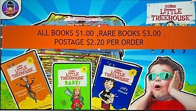 AU4.99 • Buy COLES LITTLE TREEHOUSE BOOKS -  Choose Any Book To Finish Your Collection