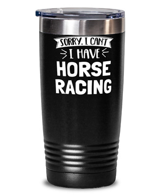 £21.90 • Buy Funny Horse Racing Gift - Sorry I Can't - Cute Present For Horse Racing Lovers -