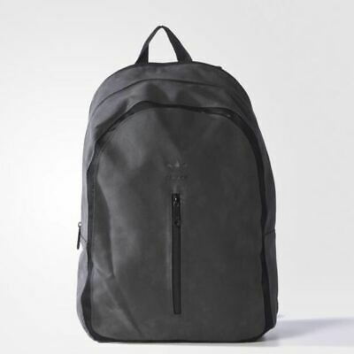 AU45.95 • Buy Adidas Original Suede Travel Backpack- Black
