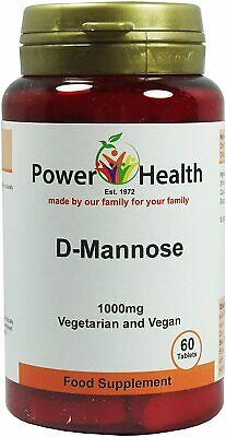 AU28.44 • Buy Power Health D-Mannose 1000mg 60 Tablets