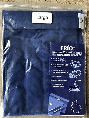 Frio Insulin Large Cooling Travel Wallet • 9£