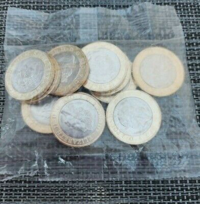 2016 Sealed Bag Of Shakespeare  Tragedies   £2 Coins. No Toning  Great Condition • 48£