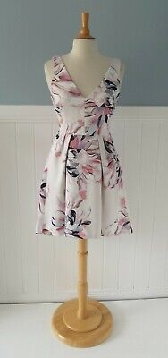AU35 • Buy FOREVER NEW // Size 10 8 // Beautiful Floral Print High Low Structured Dress