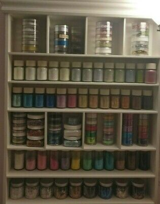 £5.12 • Buy RARE Martha Stewart Crafts Fine Glitters Various, Your Choice