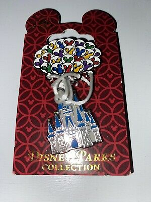 Disney Parks Sleeping Beauty Castle Mickey Balloons Happiest Place On Earth Pin • 8.50£