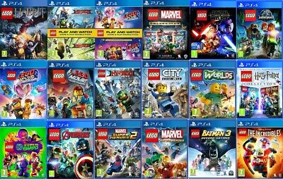 LEGO PS4 Games - MINT - PlayStation 4 Same Day Dispatch Via Super Fast Delivery • 16.99£