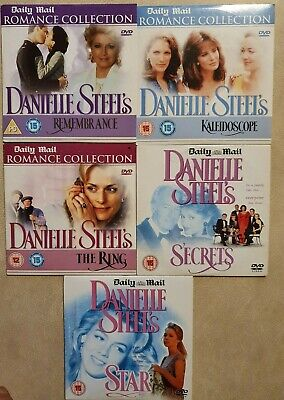 Danielle Steel Romance Collection 5x Daily Mail Full Length Film DVDs • 4.99£
