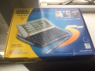 Psion 5MX PDA - 16mb Boxed & PsiWin Cable & Software - Great Condition, Freepost • 129.95£