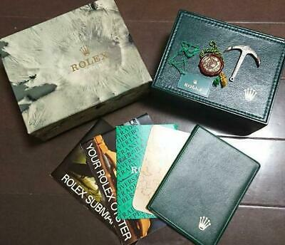 $ CDN1560.62 • Buy Mu106  Rolex Submariner 5513 Bordered Empty Box Genuine  Booklet Tag Anker