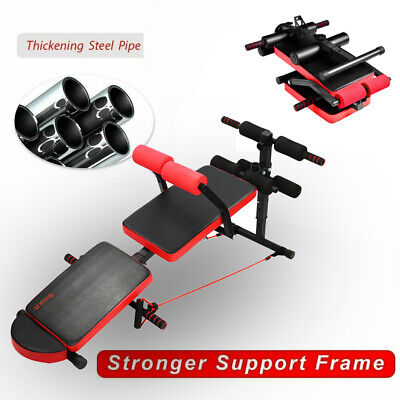 Foldable Weight Bench Heavy Press Workout Fitness Exercise Gym Incline &Decline • 50.59£