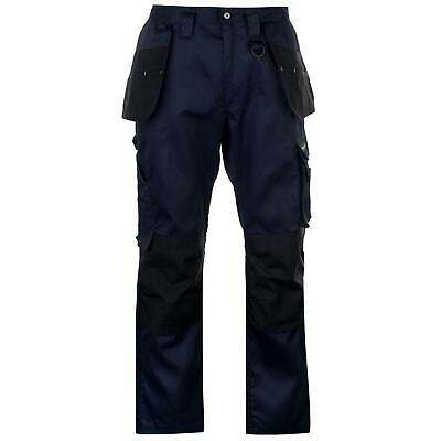£40.99 • Buy Dunlop Mens On Site Bottoms Pants Trousers Zip Fly Cargo Pockets Work Bottom