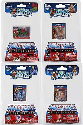 $29.99 • Buy Worlds Smallest Masters Of The Universe - 4 Pack Bundle Set HE-MAN SKELETOR