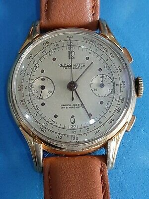 $ CDN1271.70 • Buy Vintage Repco Watch Chronograph 18 Jewels. Valjoux 22.
