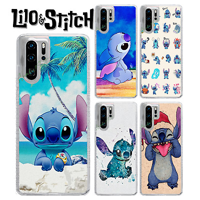 Disney Lilo Stitch Animated Cartoon Case For P30 Lite Pro P Smart Y6 Y7 • 6.99£